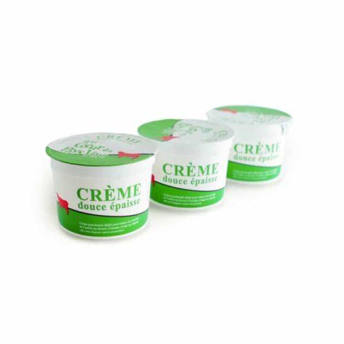 Crème douce Les Fromageurs.