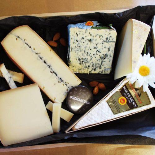 Plateau de fromages de la coopérative