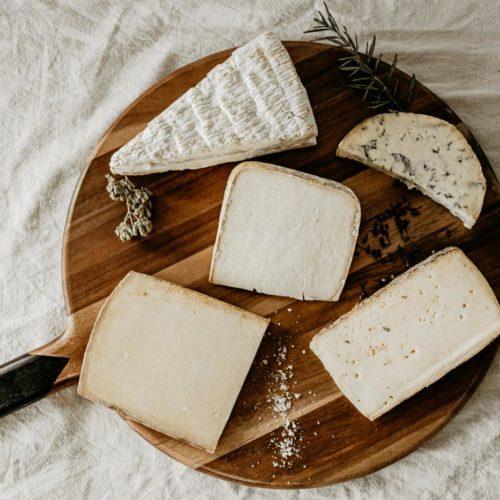 Plateau de fromages de coopérative pour la fête des mères Les Fromageurs